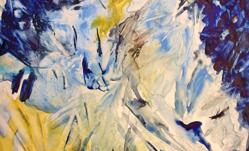 Polar Vortex with Yellow