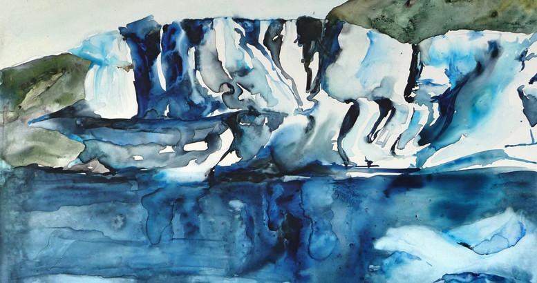 Jokulsarlon, Artist Board (Iceland)