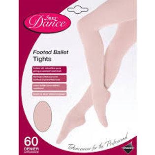 Silky Ballet Dance Tights pink hand sewn flat seams