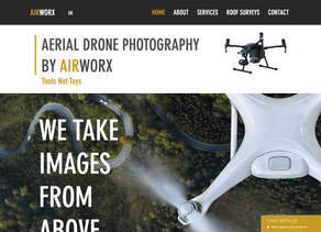 Drone Photography Website