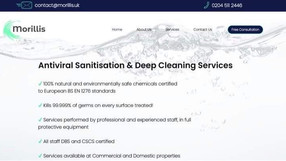 Cleaning & Maintenance Website