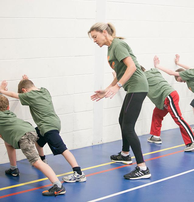 kids fitness london