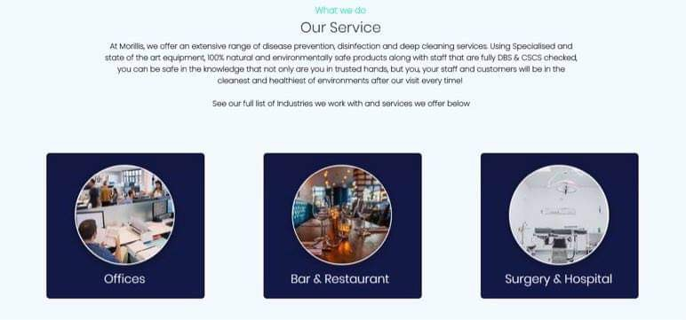 Wix Cleaning Service WebSite