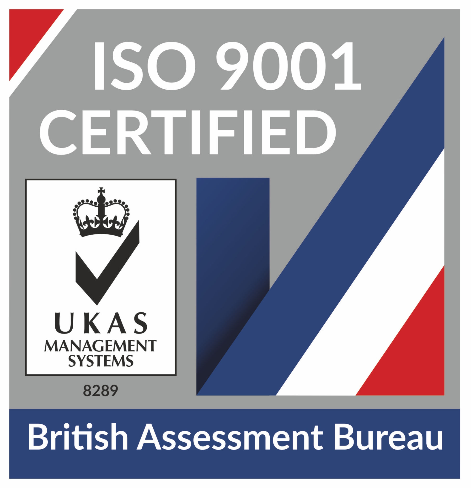 UKAS-ISO-9001 Badge