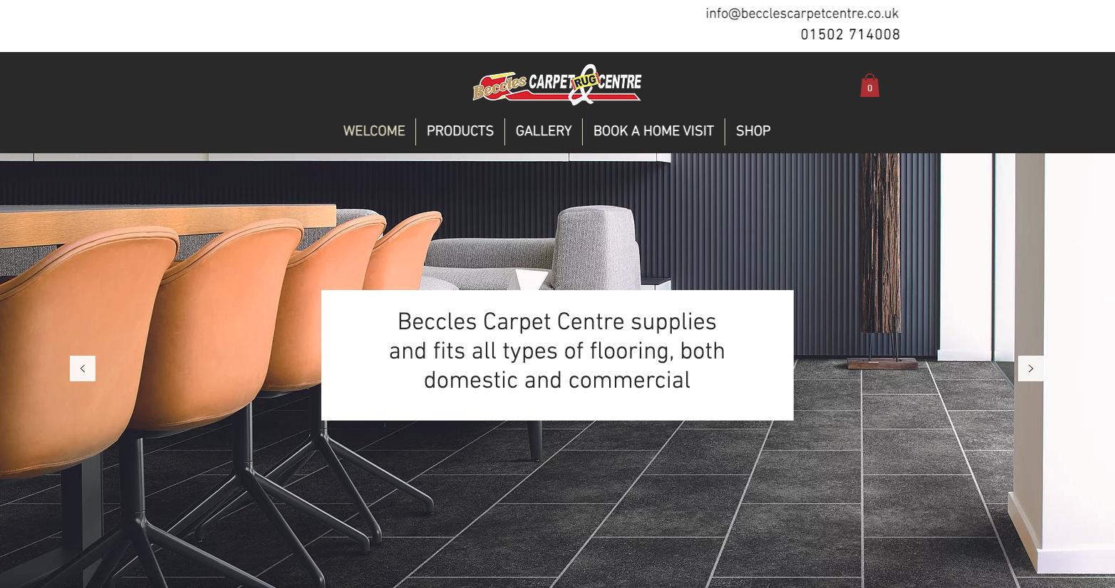 Flooring Centre Website On Wix
