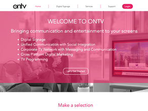 US Television Company Website