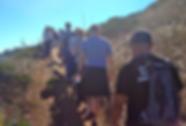 A Match.com hiking group climbs up to Twin Peaks