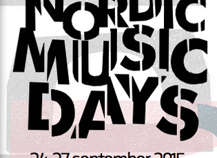 Nordic Music Days // 26 Sept 2015