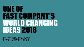 FAST COMPANY 2018 WORLD CHANGING IDEAS AWARDS, gCycle is on the list!