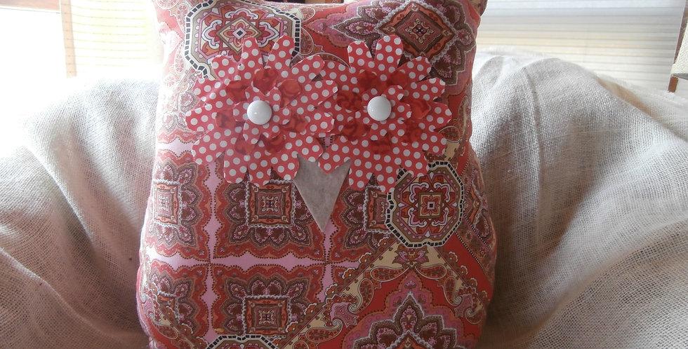 """18"""" owl pillow"""