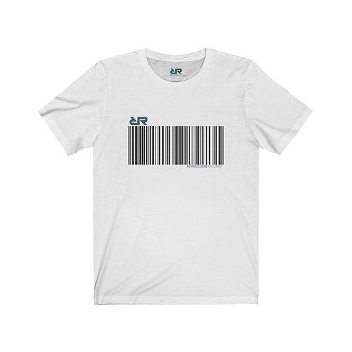 "Mens ""Barcode"" T-shirt // White"