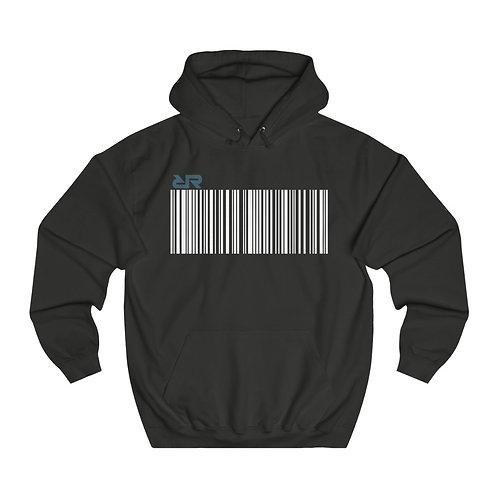 """""""Barcode"""" Hoodie // Black"""