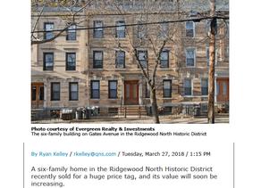 2035 Gates Ave. Ridgewood Sold - $2,275,000