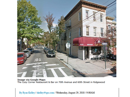 70th Avenue & 60th Street Ridgewood Sold - $2,075,000
