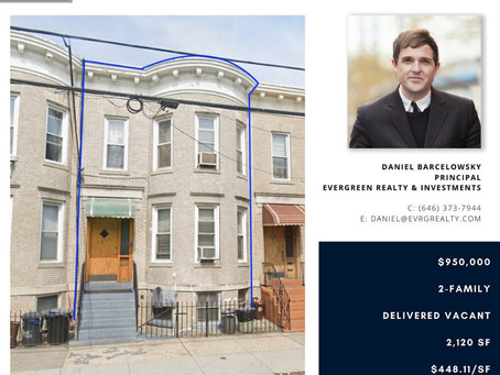 1875 Gates Ave Ridgewood Sold - $950,000