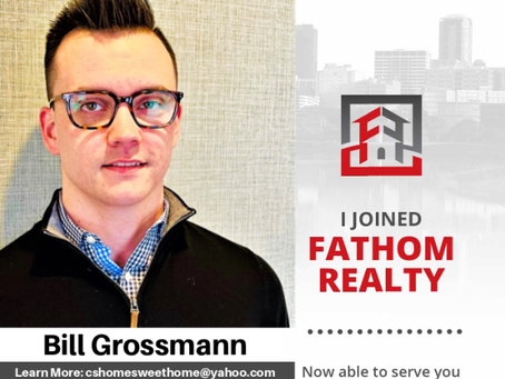 Let's welcome our newest rockstar Bill Grossmann to the Fathom Realty Family!#fathomrealty #welcome