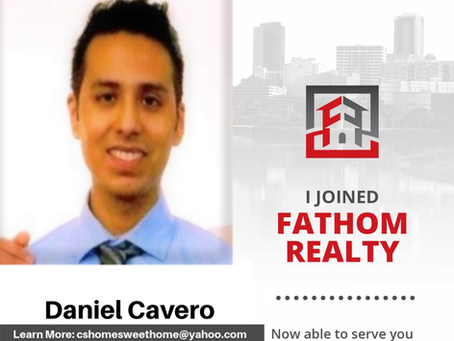 Welcome to Fathom Realty Daniel!
