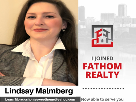 We have a new member of the Fathom Family! Let's welcome Lindsay Malmberg.