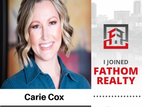 I'm extremely excited to welcome top producing agent Carie Cox!