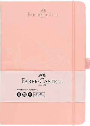 Notizbuch A5 altrosa (Faber-Castell)