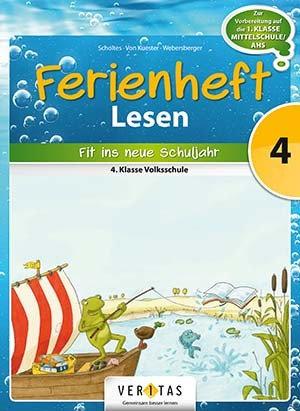 Ferienheft Lesen 4. Volksschule (VERITAS)