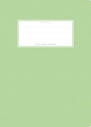 hellgrün - A5 Starkpapier (minouki)