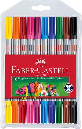 Doppelender Fasermaler   (Faber-Castell)