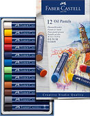 127012_Oil pastels, cardboard wallet of