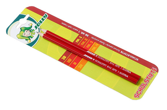 Bleistift - 3B - Nr. 1  (JOLLY)