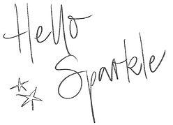 Hello Sparkle und Sterne Standard_High R