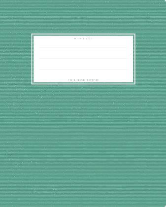 dunkelgrün - Quart Starkpapier (minouki)
