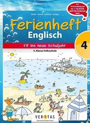 Ferienheft  Englisch 4. Volksschule (VERITAS)