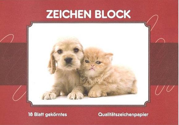 A3  Zeichenblock - gekörnt (ÖKO-PLUS)