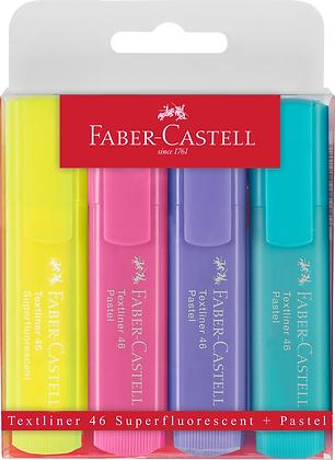 Textliner Pastell + Superfluorescent (Faber-Castell)
