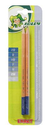 Bleistift - 2H - Exact  (JOLLY)