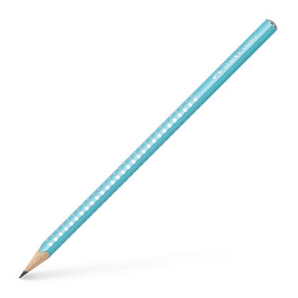 Bleistift pearl türkis SPARKLE Edition   B   (Faber-Castell)