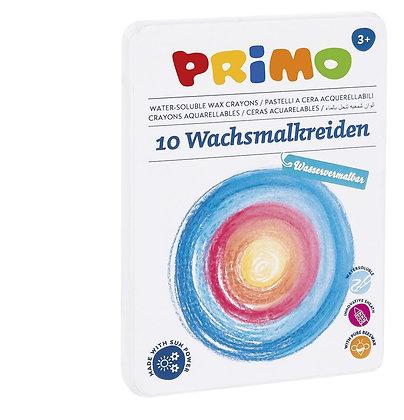 Wachsmalkreiden - wasservermalbar (Primo)