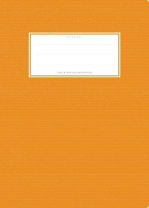 orange - A5 Starkpapier (minouki)
