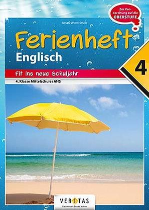 Ferienheft Englisch 4. Mittelschule / AHS (VERITAS)