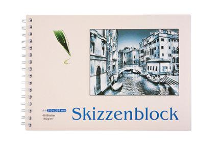 Skizzenblock A4, 48 Blätter (BESTPOINT)