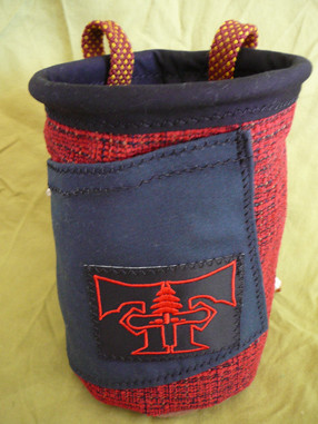Hand made chalk bags