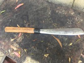 Hand forged Machete