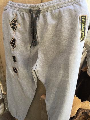 Light Grey Code XL sweat pants