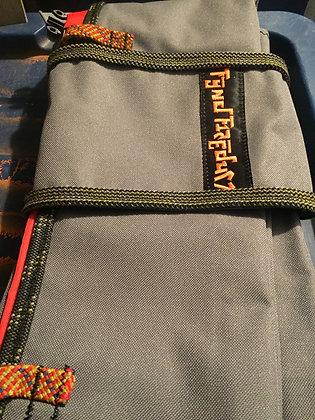 Orange Tarp Rope Bag