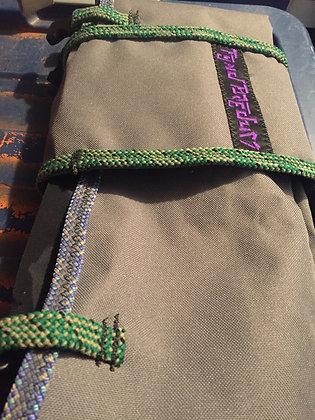 Black Tarp Rope Bag