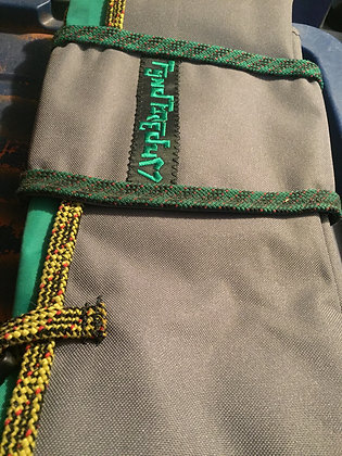 Green Tarp Rope Bag