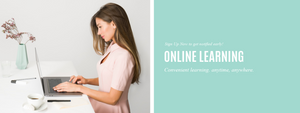 Learning online at your own pace.