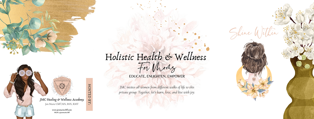 This private Facebook Group of Moms desire to learn all about holistic selfcare through health, wellness, and alternative techniques.
