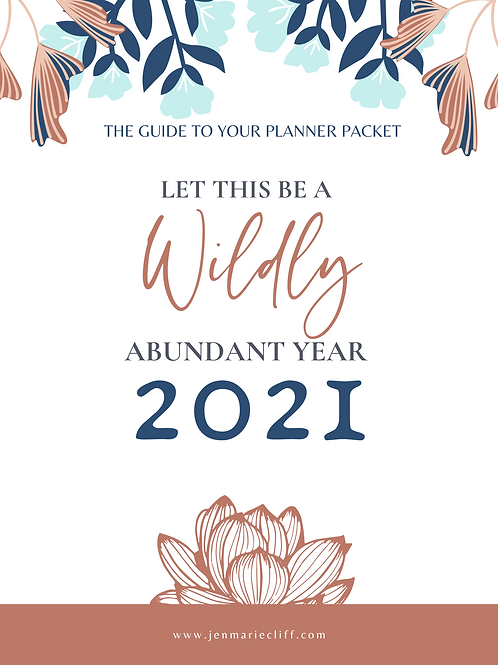 The Planner Packet 2021