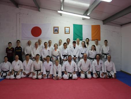 Shotokan Lehrgang mit Kyoshi Jens Fricke in Tuam/ Irland